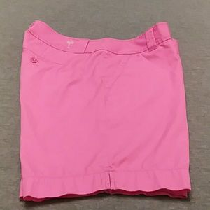 Lilly Pulitzer Bermuda Shorts Pink Size 8